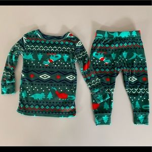 18mo.CAT&JACK velvety soft sleepwear top &bottoms